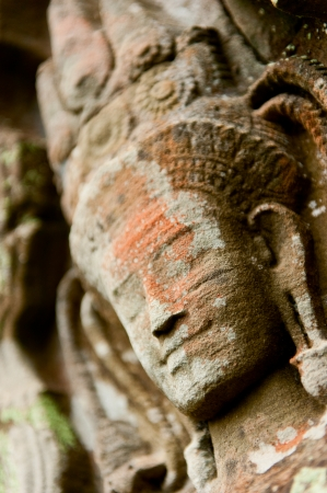khmer: Smiling faces in the Temple of Bayon