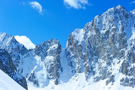 highest: Mountains peak