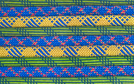 karabiner: Colored rope line