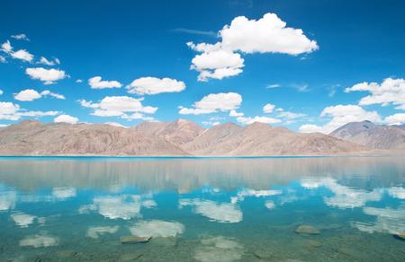 majestic mountain: Majestic mountain lake in Canada Stock Photo