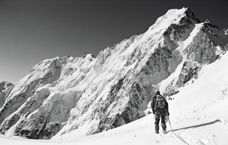 himalayas: Hiking in Himalaya mountains