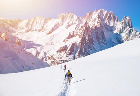 Ski de montagne Banque d'images - 41538743