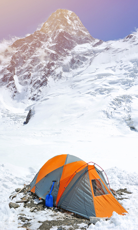 everest: Tent in the Everest base camp