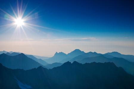 incomparable: Mountain landscape