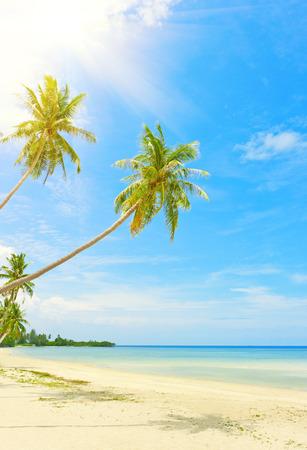 thailand beach: Tropical beach at Thailand - vacation background Stock Photo