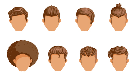 Retro Hairstyle Men. male retro hair. Mohawk Hair, The classic and trendy. salon hairstyles for haircut.