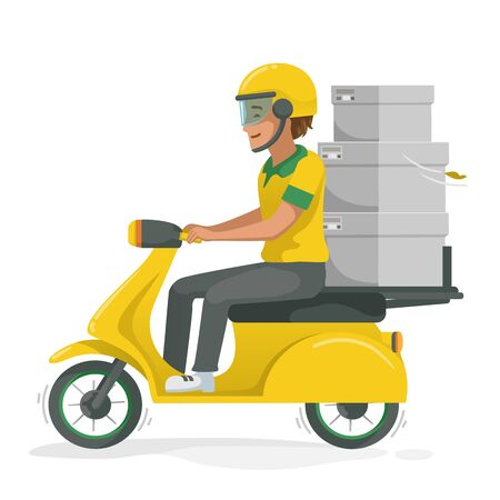 Riding motorcycle set. Man gestures are driving many motorcycles. Thumbs up. Couple riding a motorcycle. Driving in the rain. Drive safely, wear a helmet. Businessmen drive to work. vector isolated Ilustração