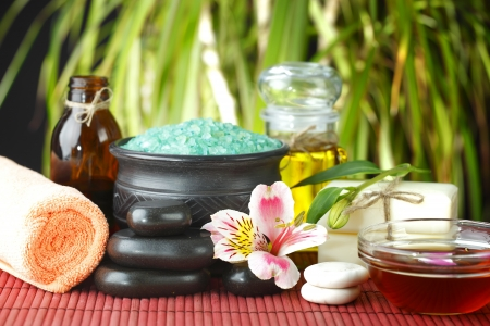 natural products: Spa