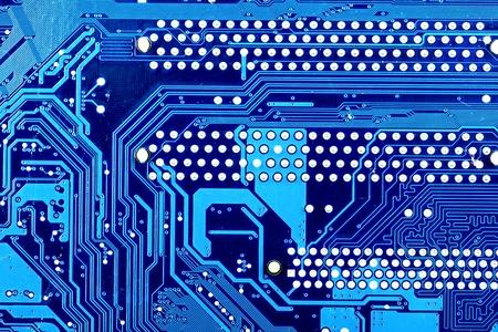electronic board: Computer motherboard closeup