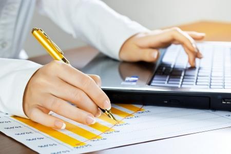 Accounting. Stock Photo