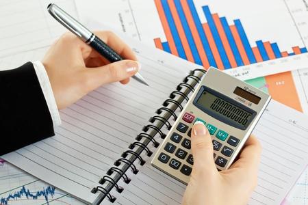 Accounting. Standard-Bild - 11758835