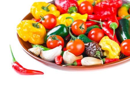 The composition of vegetable photo