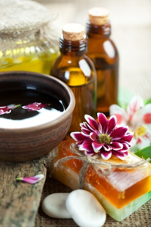 aromatherapy: Aromatherapy Spa Stock Photo