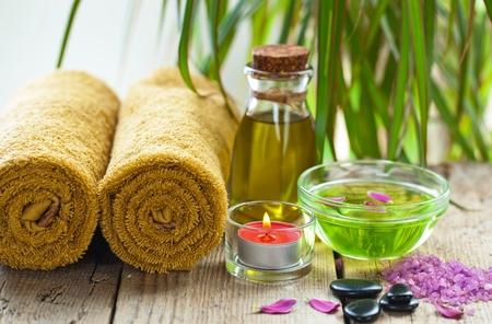 productos de belleza: Aromatherapy Spa Foto de archivo