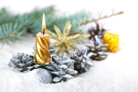 Christmas composition Foto de archivo