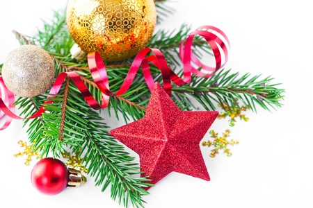 Christmas composition Stock Photo - 16584242