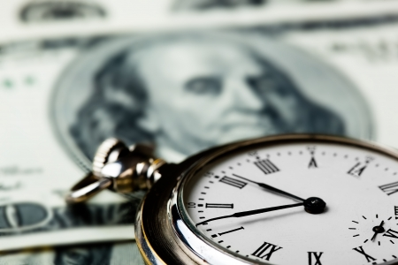 Time is money Stock Photo - 22299365