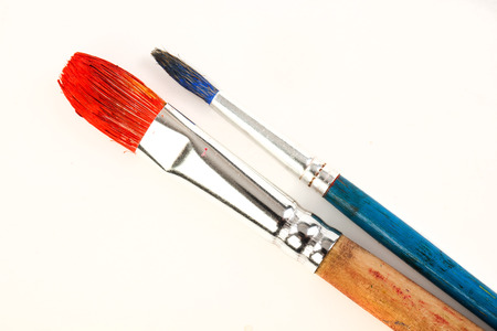 brush paint: Paints and brushes