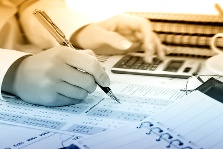 stock prices: Business accounting