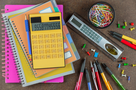 Back to school. Items Banco de Imagens