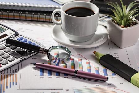 Accounting. Items Archivio Fotografico - 119624453