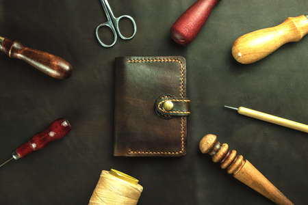 Tools for crafting animal skin.