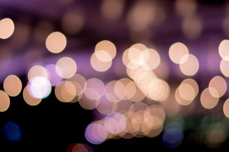 night table: Light Bokeh