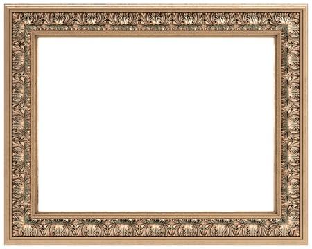 marcos decorados: oro rectangular tallada marco para un espejo o un cuadro