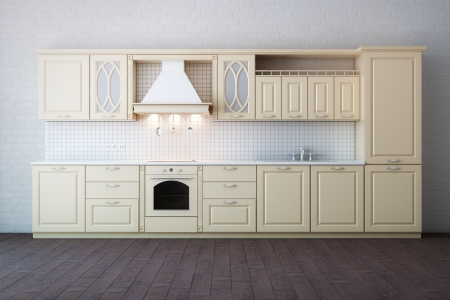 Classic Luxury Beige Kitchen