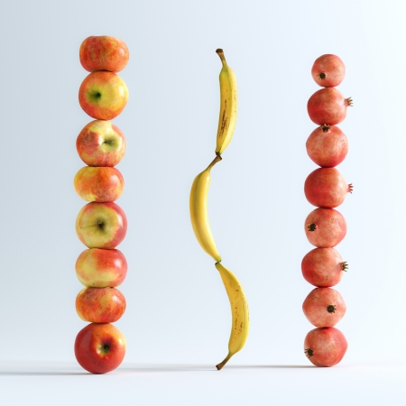Conceptual Picture Of Fruits photo