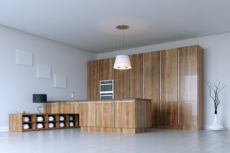 Luxury Kitchen Cabinet  Wooden Furniture