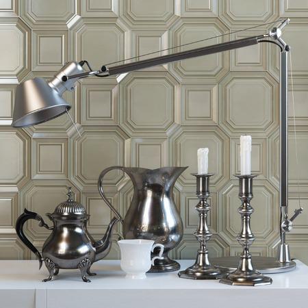 jamoke: tile background. Coffee break