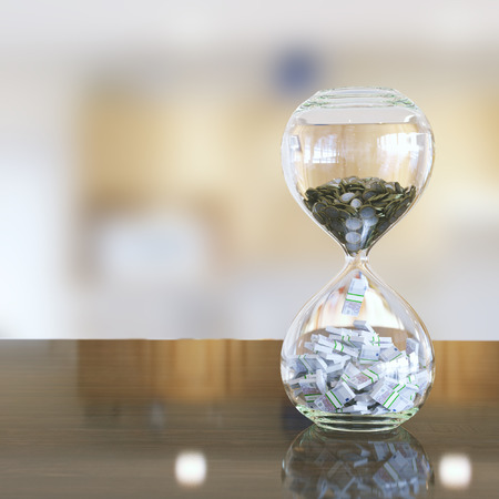time is money interior version with bokeh