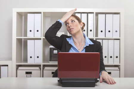logically: Businesslady remembers forgetting an important appointment