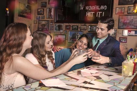 gigolo: One man celebrates his birthday with his three girlfriends