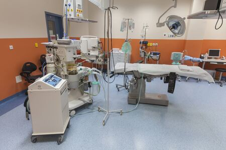 BRNO, CZECHIA - OCTOBER 4th, 2018 - UNIVERSITY HOSPITAL BRNO bought new heart lung machines for the pediatric clinic