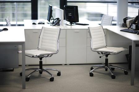 buliding: Inside an office buliding.