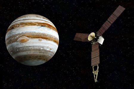 jupiter and satellite juno photo