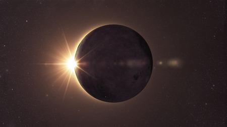 Sonnenfinsternis Standard-Bild - 37670269