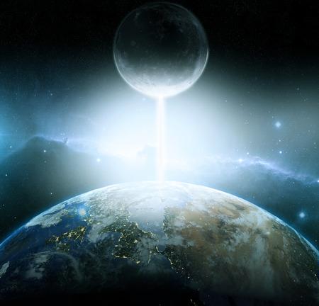 armageddon: Earth and moon fantasy, armageddon
