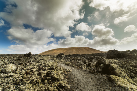 blanca: Road to vulcano Caldera Blanca
