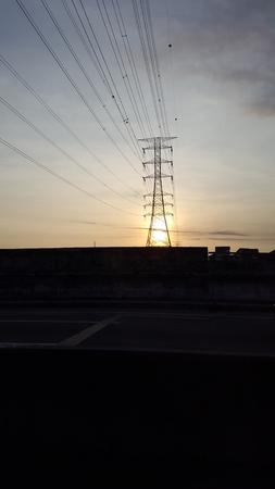 rise: sun rise morning Stock Photo