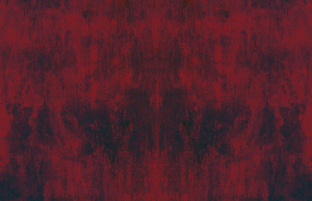 Stained dark red surface, abstract grunge background 免版税图像