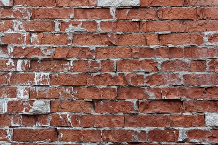 Old weathered brick wall fragment Stock Photo - 11134774