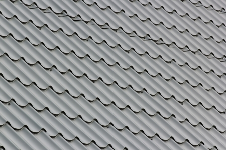 Gray metal tile. background. pattern