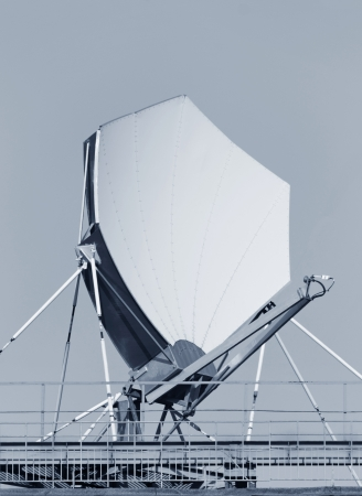 Highspeed satellite dish. impressive color composition Stock Photo - 14387160