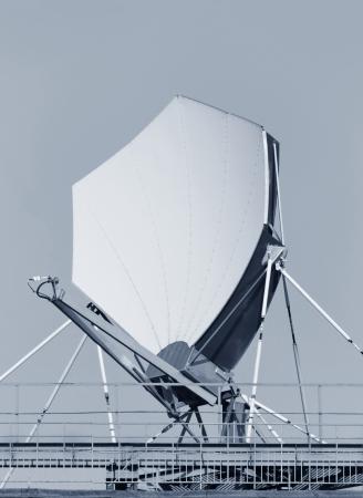 Highspeed satellite dish. impressive color composition Stock Photo - 14468535