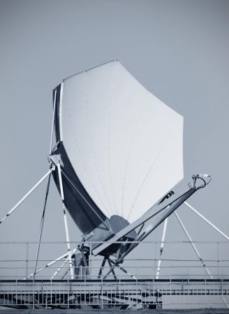 Highspeed satellite dish  impressive color composition Stock Photo - 16292833