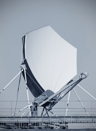 Highspeed satellite dish  impressive color composition Stock Photo - 16292833
