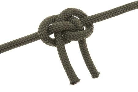 kink: liana knot. isolated on white background Stock Photo